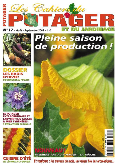 Les cahiers du potager bio magazine de jardinage for Magazine jardinage